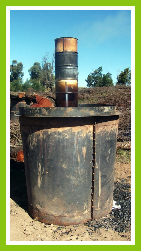 South Africa Create Biochar With A Trans Portable Kiln